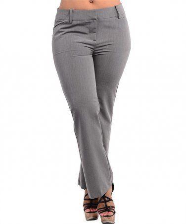 Plus Size Dress Pant