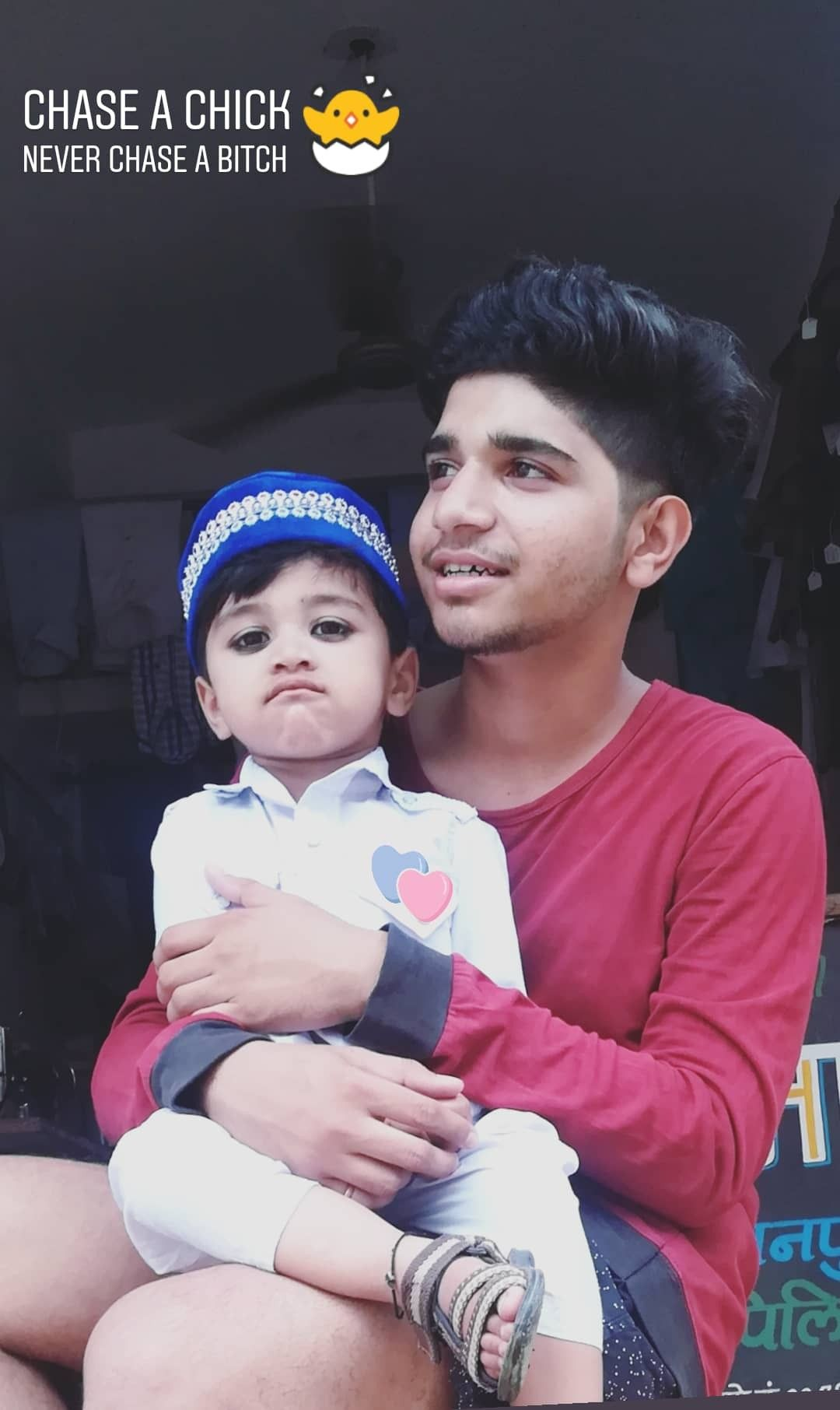Herry Malviya With The Cute Baby Boy Babies Herrymalviya Cute Men
