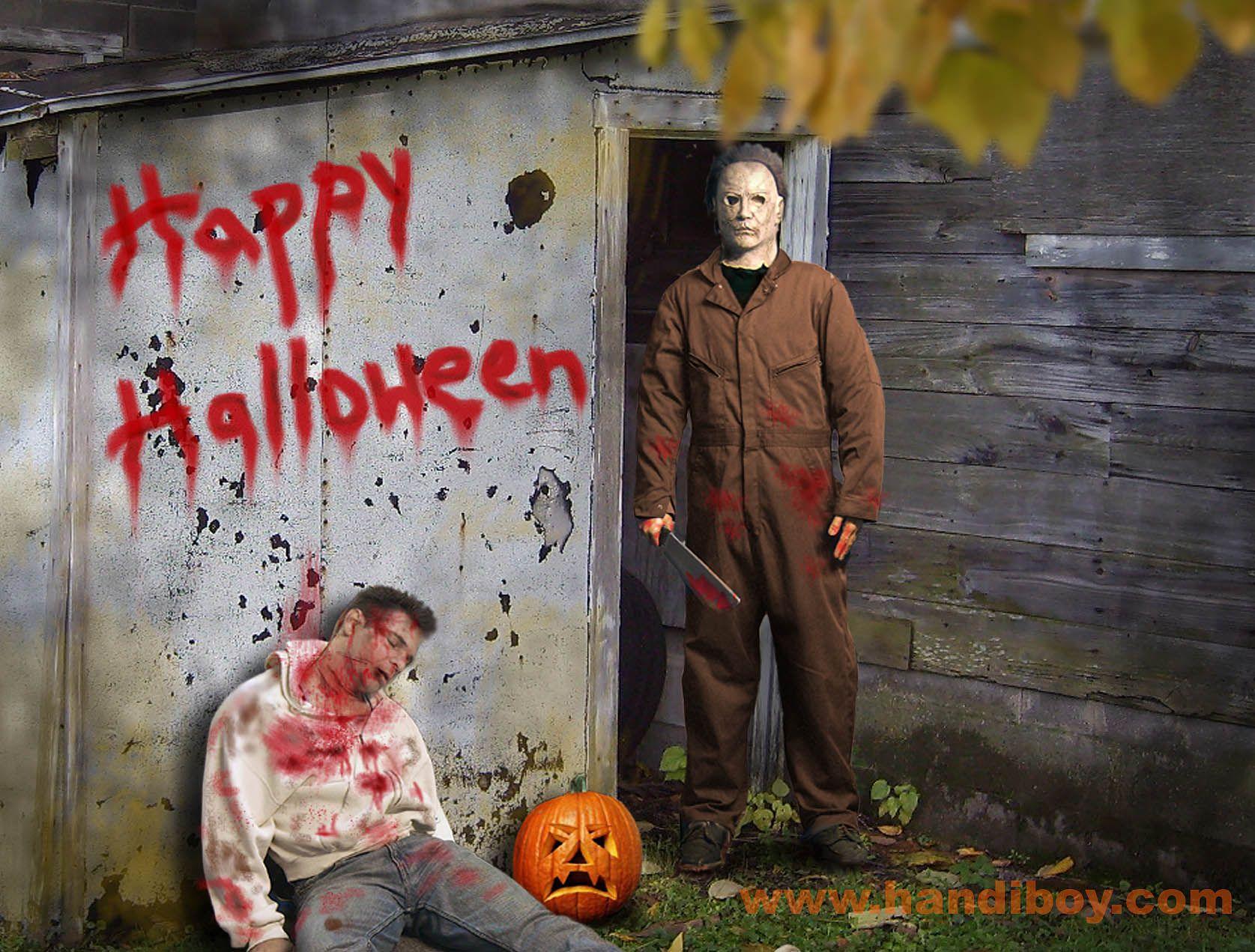Halloween Computer Wallpapers Desktop Backgrounds 1675x1271 Id 445157 Youtube Views Michael Myers Halloween 2007