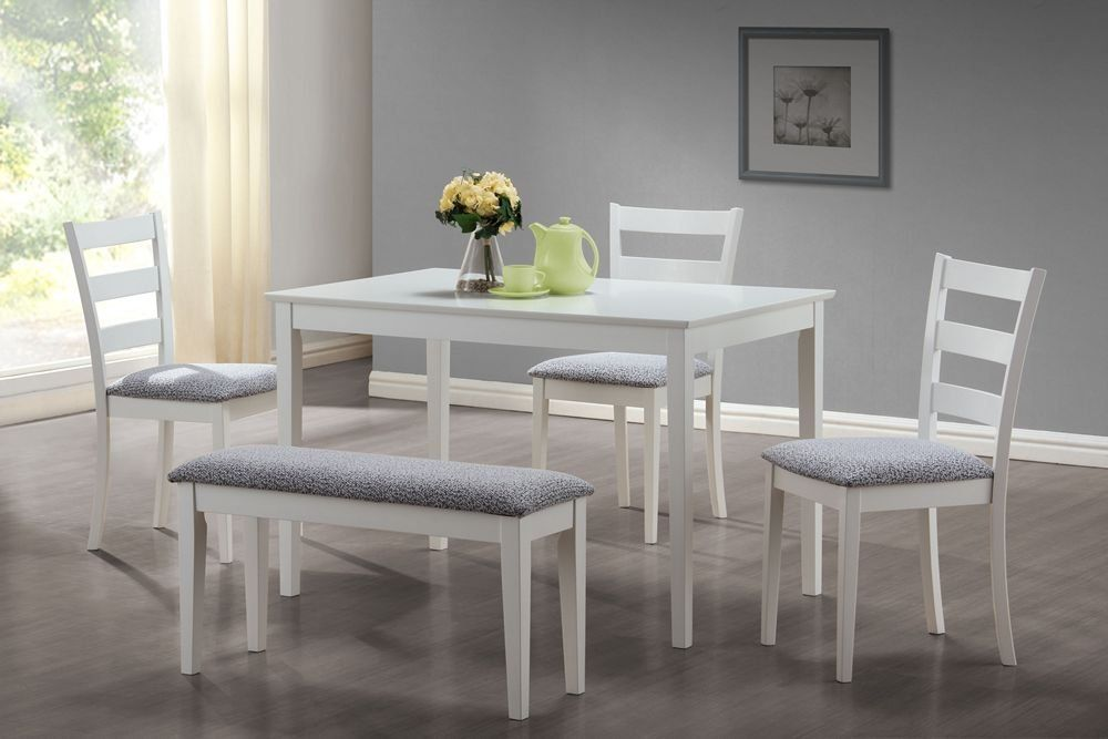 Kleine Weisse Esstisch Und Stühle | Küchen | Pinterest | weißer ...