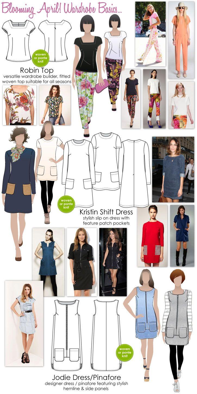 Jodie Dress / Pinafore | Ropero | Sewing patterns, Sewing y Pattern
