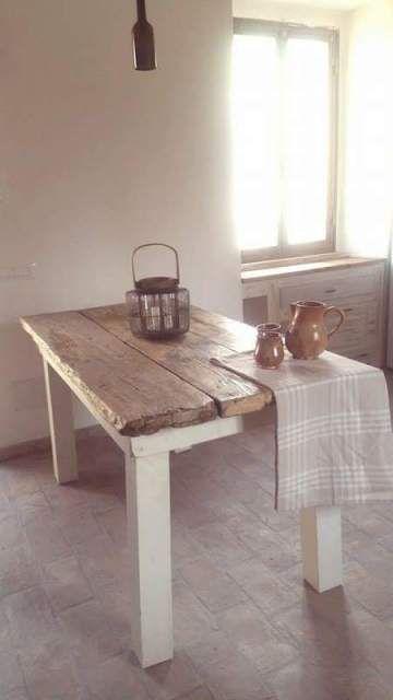 Tavoli Vintage Tavoli Da Cucina Vintage Tavolo Di Legno Rustico Tavolo Legno Grezzo