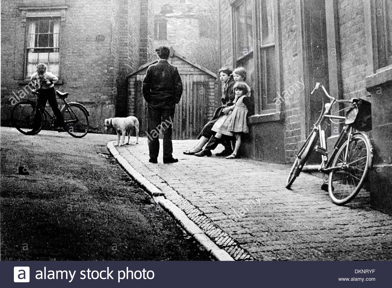 Tinchborne Street, Dudley, 1955