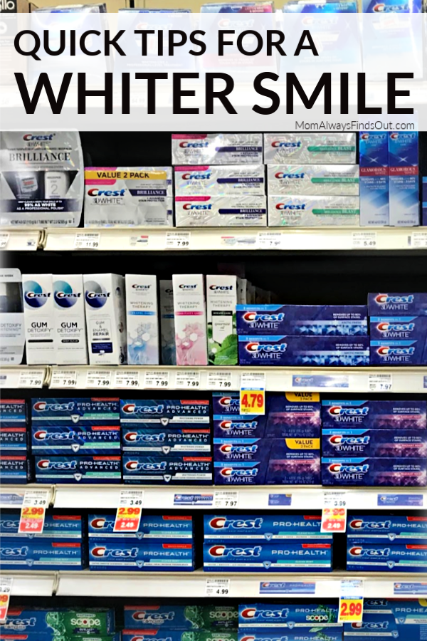 5 Quick Tips To Whiter Smile For the Holidays with Crest ...