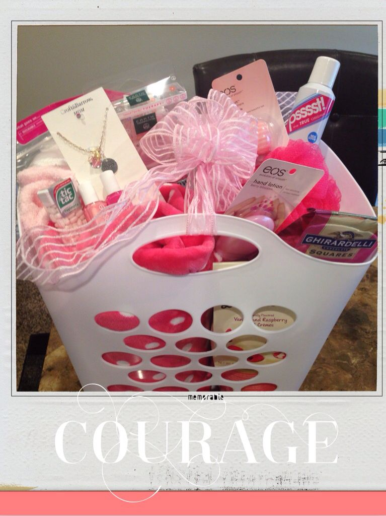 breast cancer gifts breast cancer basket this gift has some essentials for 12314