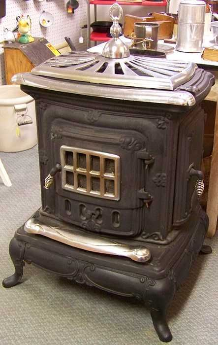Details About Washington Stove Works No 24 Wood Burning