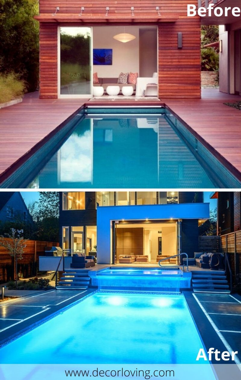19 Unique Swimming Pool Makeover Before And After Ideas in 19