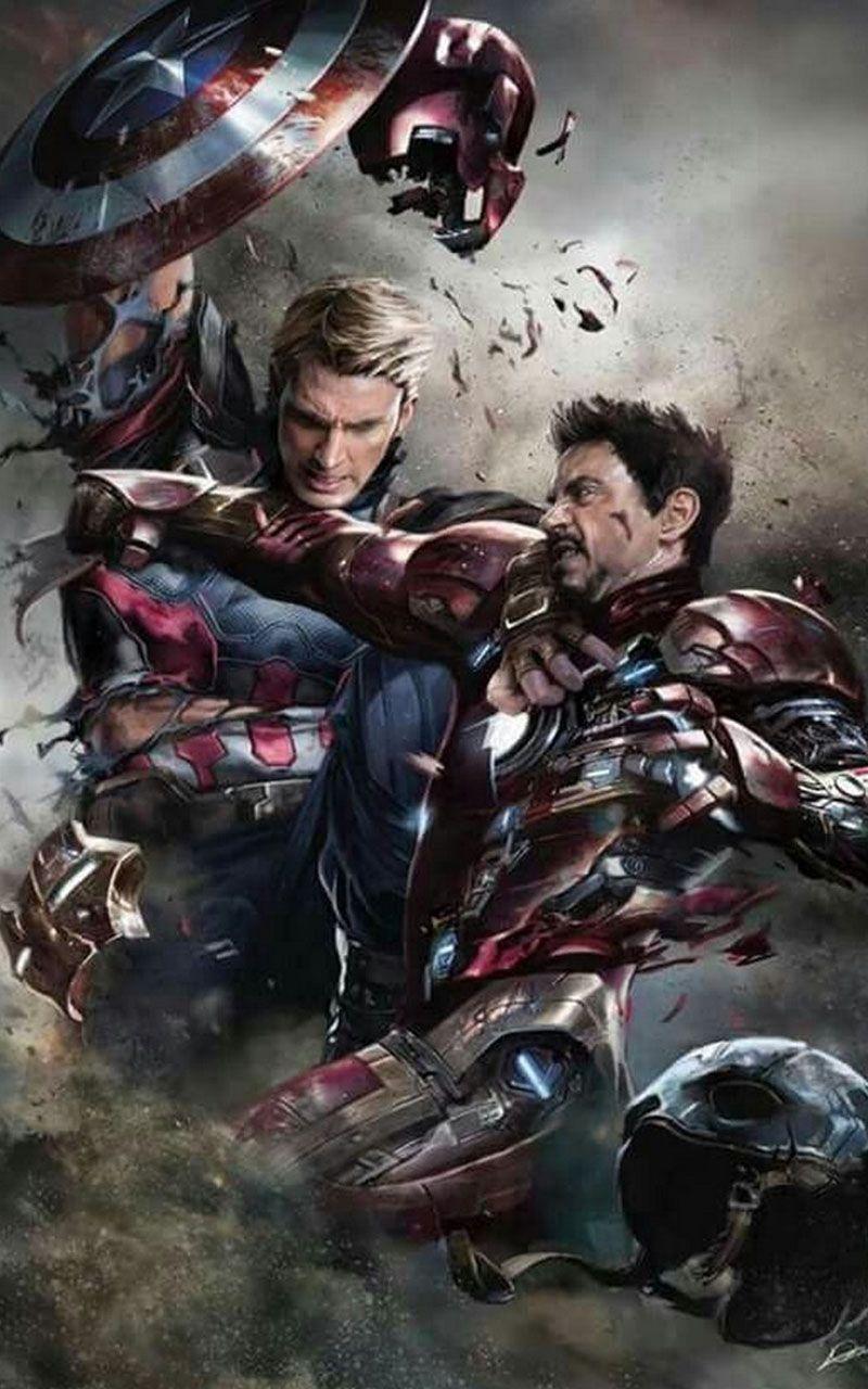 Iron Man Hd Wallpaper Marvel Iron Man Vs Captain America