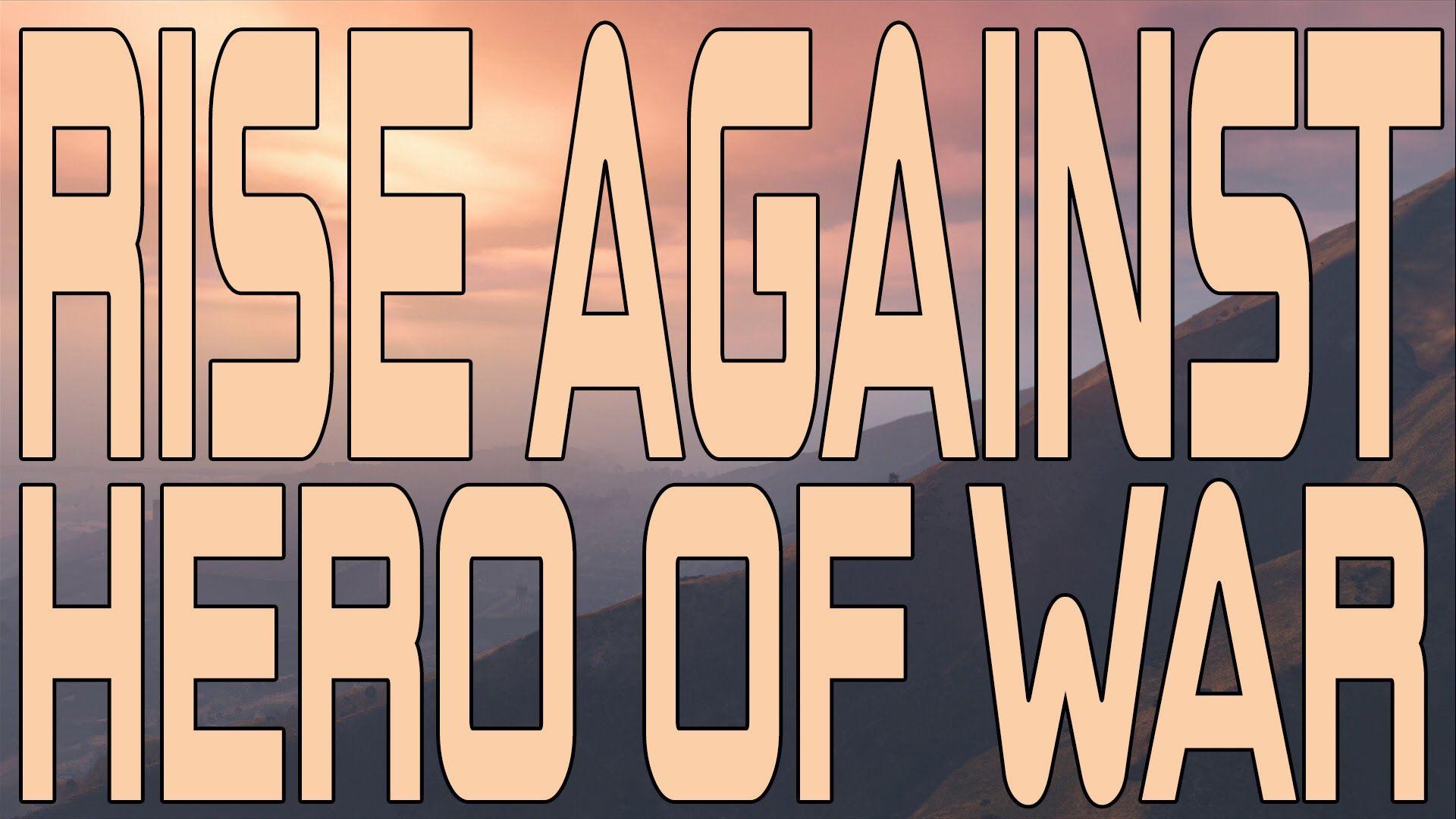 Rise Against - Hero Of War (Instrumental Cover)