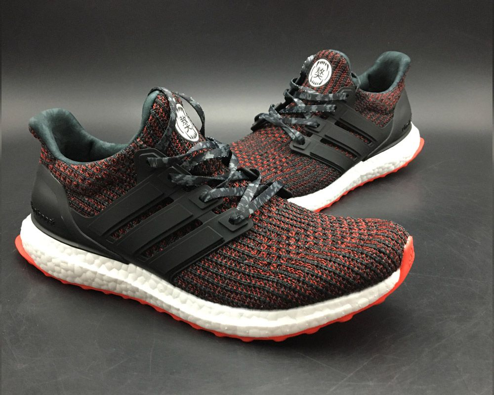 4ef21f4b1a1d 2018 Cheap adidas Ultra Boost 4.0 CNY Black Red-Orange For Sale-3 ...