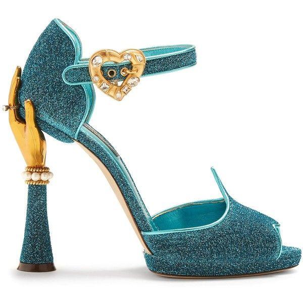 8daac0cf0f3 Dolce   Gabbana Hand-embellished sandals ( 1