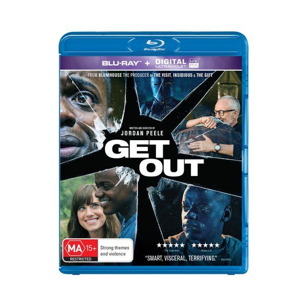 Product: Get Out [Blu-ray] Format: Blu-ray Catalogue No: BDH8365 Studio: Universal Certification: MA15+ Release Date: 2017-08-09 Region: Region B Duration: 104 minutes Discs: 1 disc(s) Produced (year): 2017 Colour: Colour Extras: Interactive Menu|Screen ratio 1:2.40|Dolby Digital 5.1