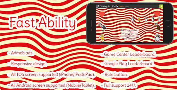 Fast Ability. Corona SDK. Android/IOS Animal games, Ios