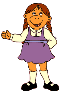 Muffy Crosswire- Arthur; 3rd grader in Mr. Ratburn's class at Lakewood Elementary. She is the richest girl in Elwood City, & lives in an enormous mansion. is often labeled snobbish & spoiled because of her wealth, attitude, & frequent selfishness. believes that money, Bailey, & her dad can fix any problem. However, in some fields Muffy is good at giving advice like fashion or love.