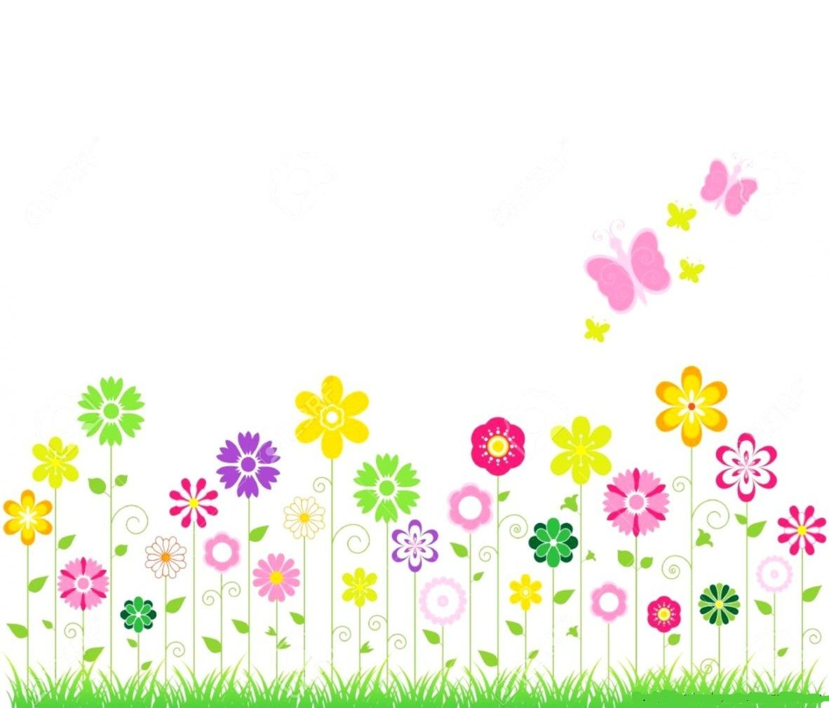 pin by shaheen shafique on elegant boards frames pinterest elegant rh pinterest co uk spring flowers clip art banner Spring Flower Border Clip Art