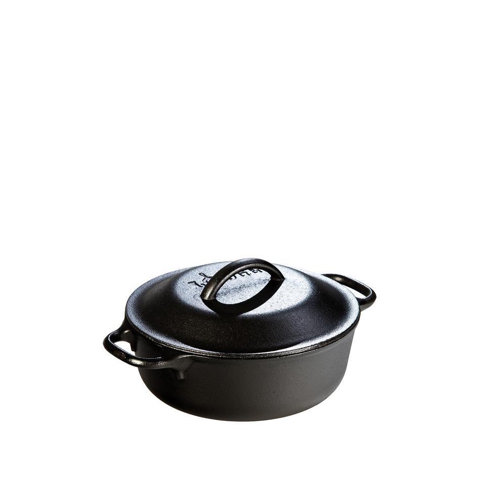 Cast Iron Serving Pot 2qt In 2020 Cast Iron Lodge Pot