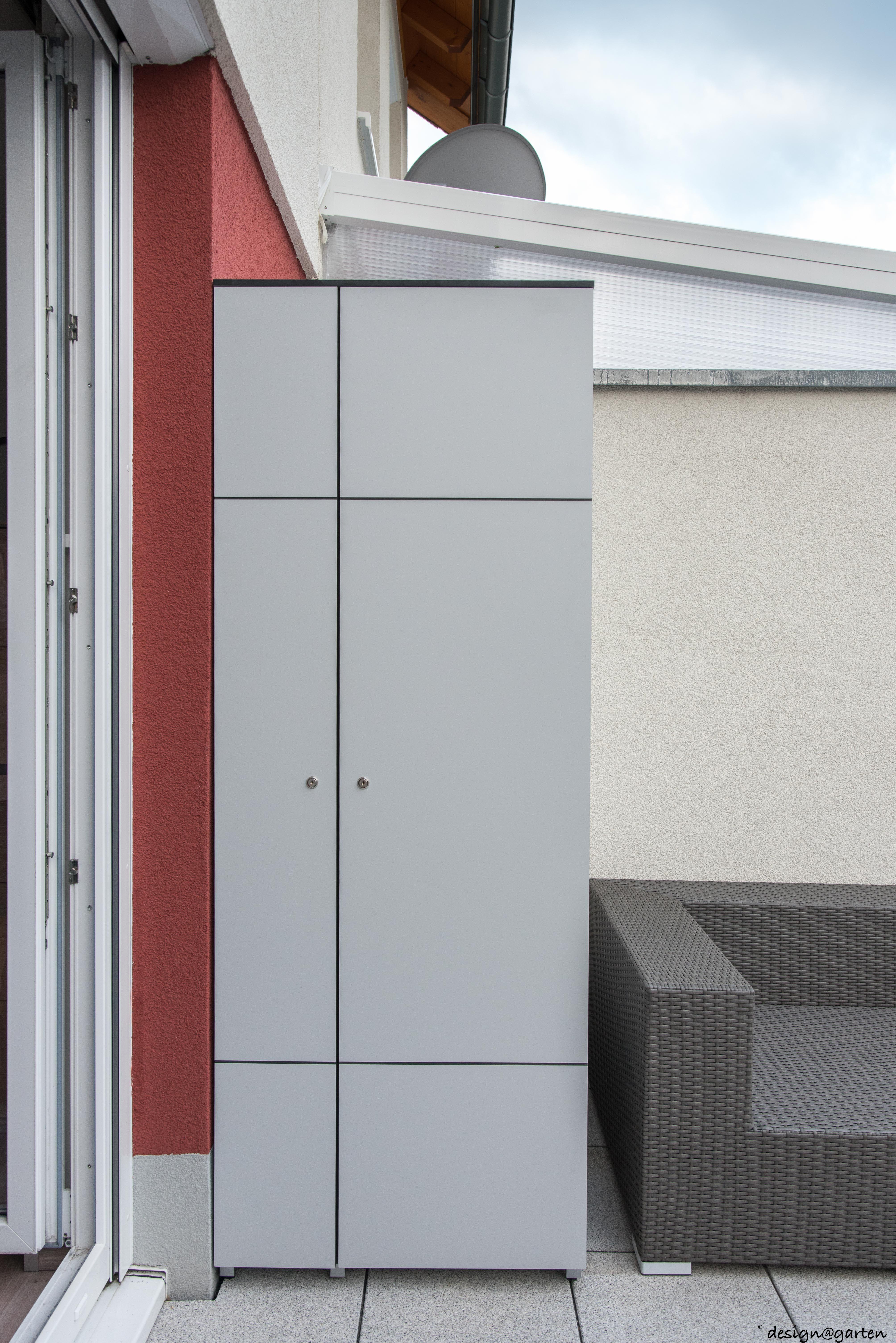 Balkonschrank Wetterfest balkonschrank win in bonn by design garten augsburg silvergrey
