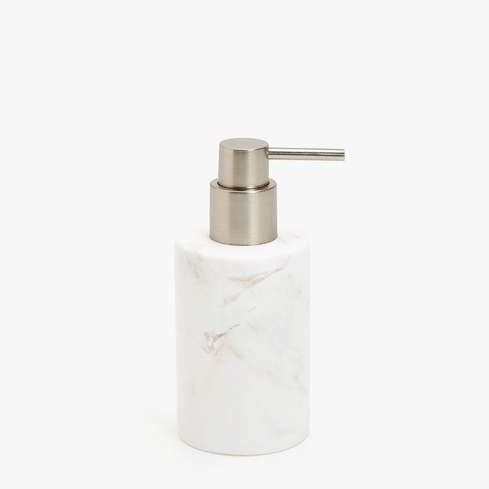 Marble Effect Soap Dispenser Bathroom Accessories