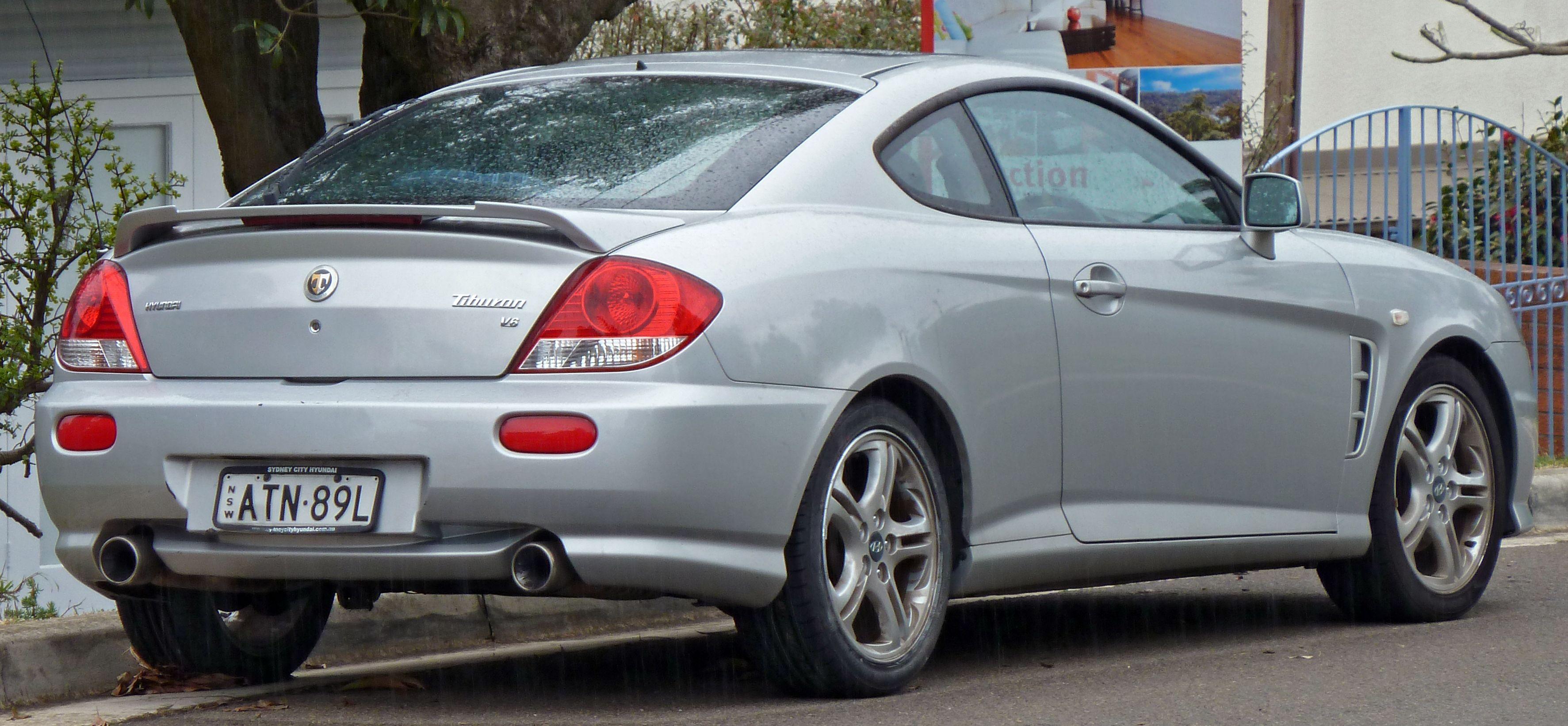 Silver Hyundai Tiburon 130 Hp Hyundai Tiburon Hyundai Silver
