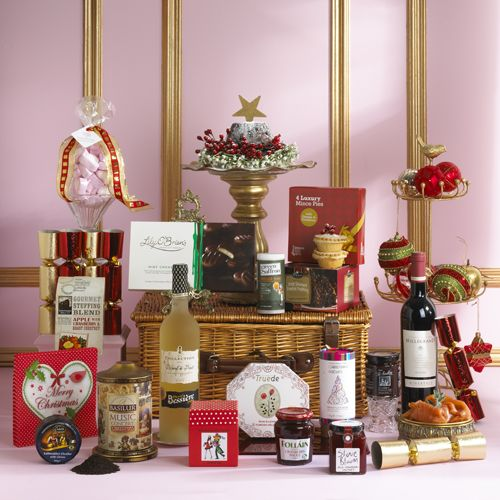 """Our """"Christmas Cracker"""" is overflowing with everyone favourite Christmas treat. www.hampersandco.com"""