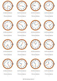 Risultati immagini per che ore sono esercizi storia for Che ore sono a detroit