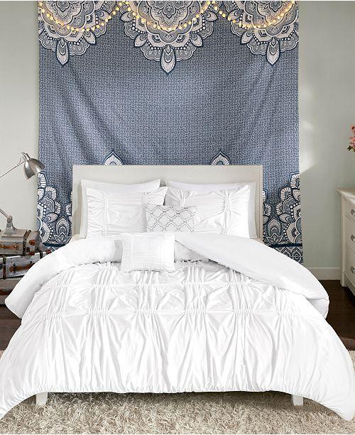 Intelligent Design Benny 5 Pc Full Queen Comforter Set