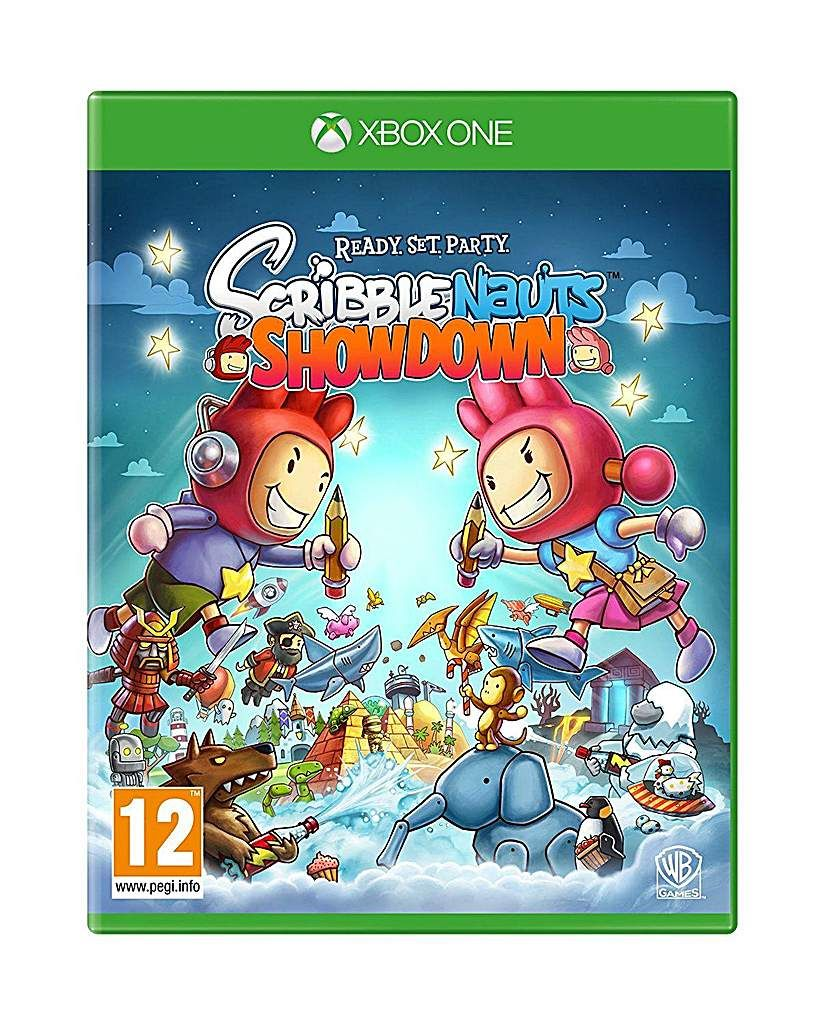 Scribblenauts Showdown Xbox One | Products | Xbox one, Xbox, Walmart