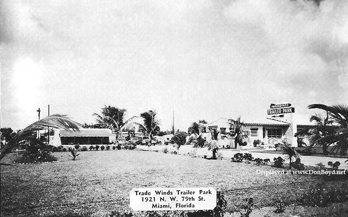Awesome 1950S The Tradewinds Trailer Park At 1921 Nw 79Th Street Download Free Architecture Designs Oxytwazosbritishbridgeorg