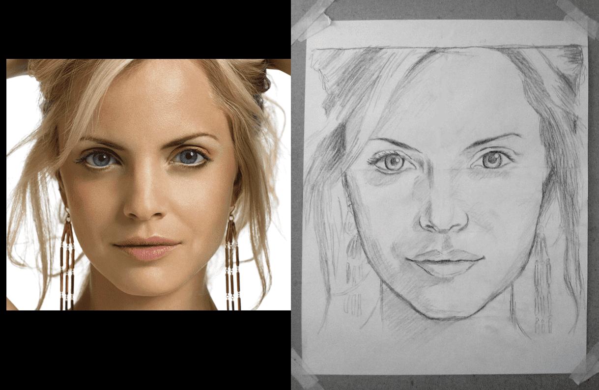 Como Dibujar Un Retrato A Lapiz Con Modelo En Vivo Como Hacer Un Retrato Paso A Paso Como Dibujar Un Retrato A Lapiz Paso Retrato Lapiz Retratos Como Dibujar