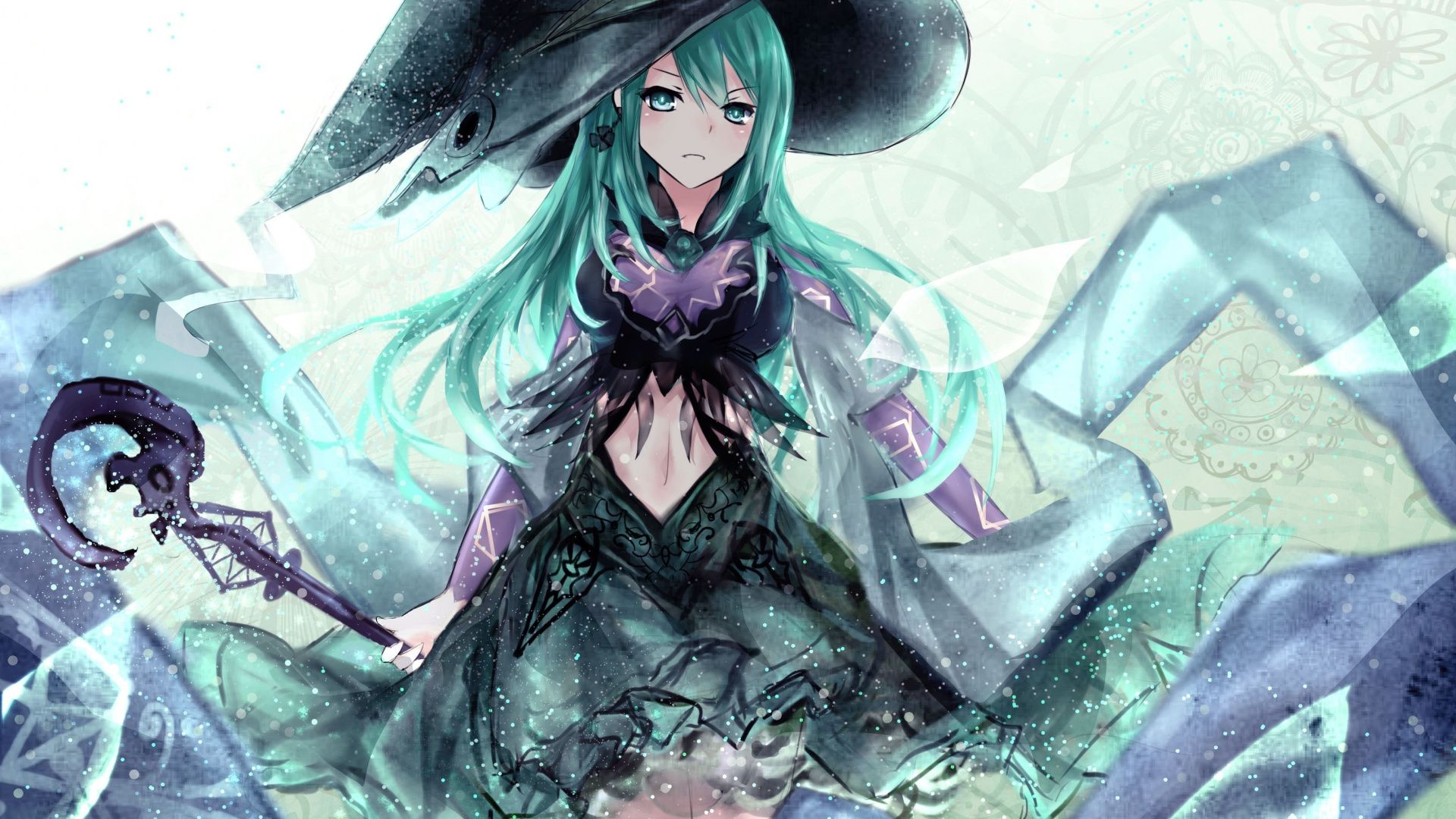 Download 1920x1080 wallpaper Witch, Natsumi, Date A Live