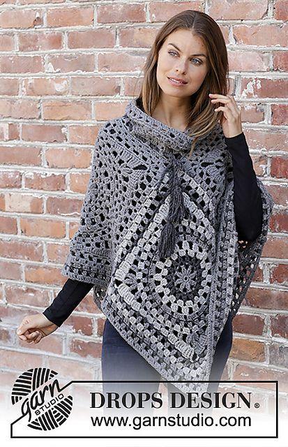 Ravelry 195 35 Serena Pattern By Drops Design Crochet