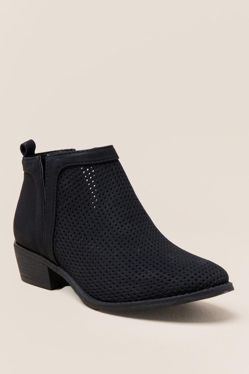 Restricted Nadia Perforated Ankle Boot  9428f60b8e