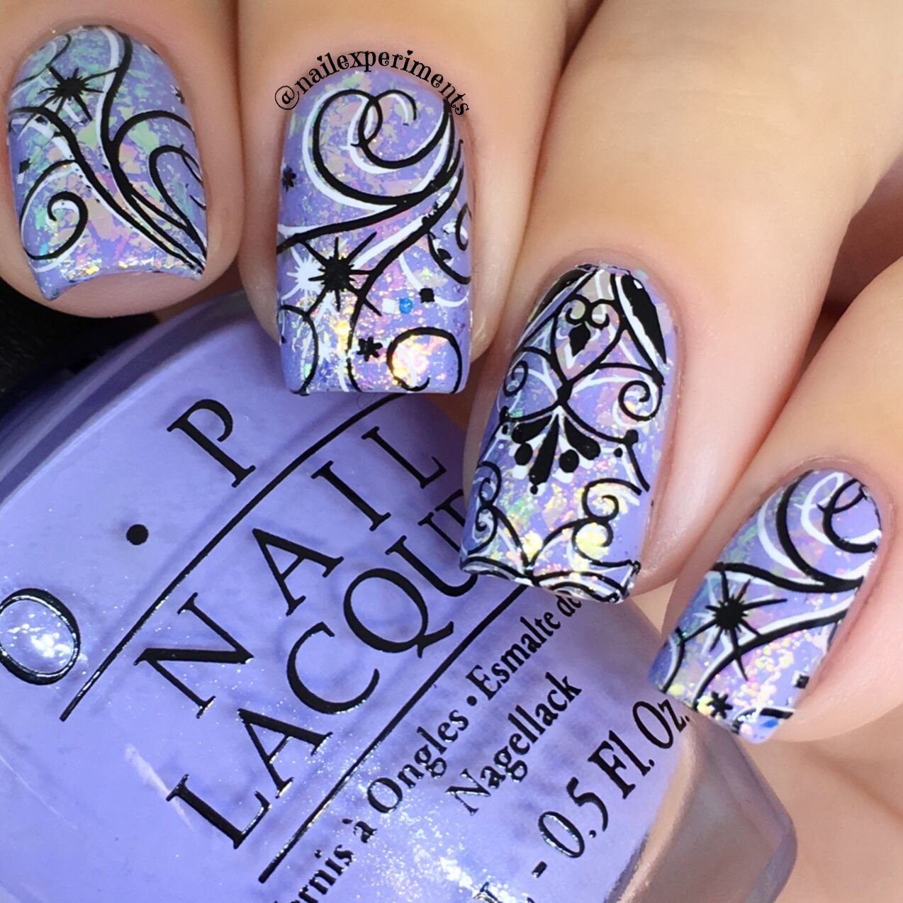 I\'m loving this fun winter nail art look! If your anything like me ...