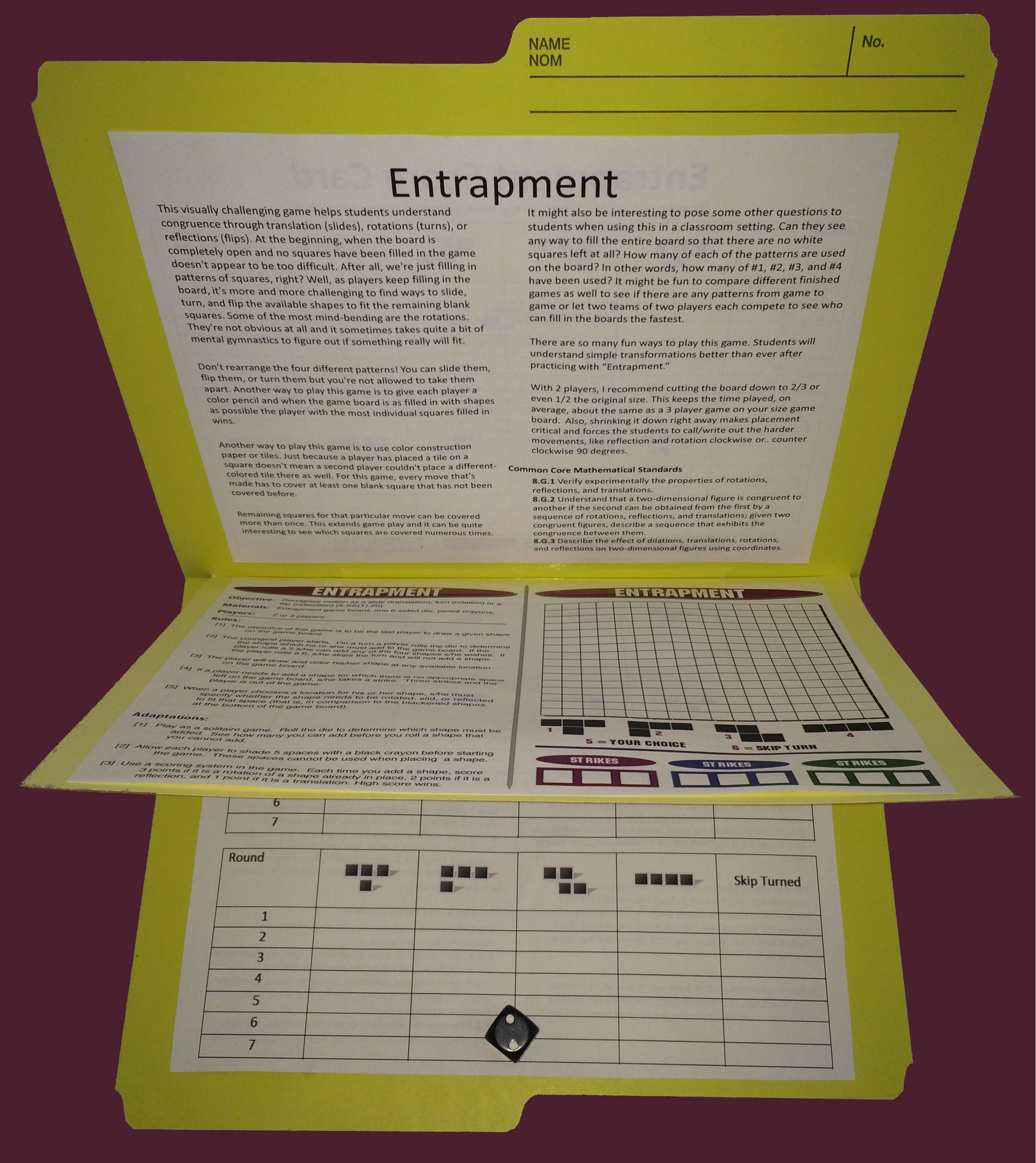 graphic regarding Middle School Math Games Printable referred to as Printable Math Online games Centre university math 6th quality math