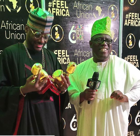 6THAFRIMA Full List of Winners Awilo Longomba and 2face