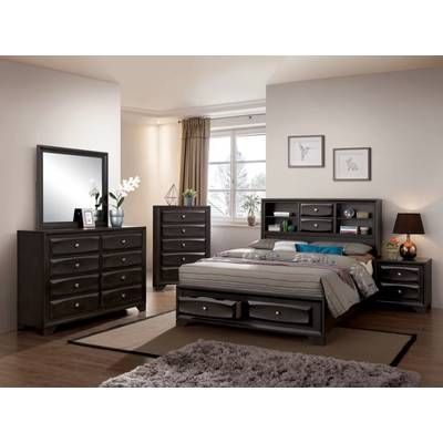 sefton storage sleigh bed in 2019 home improvement full size rh pinterest com