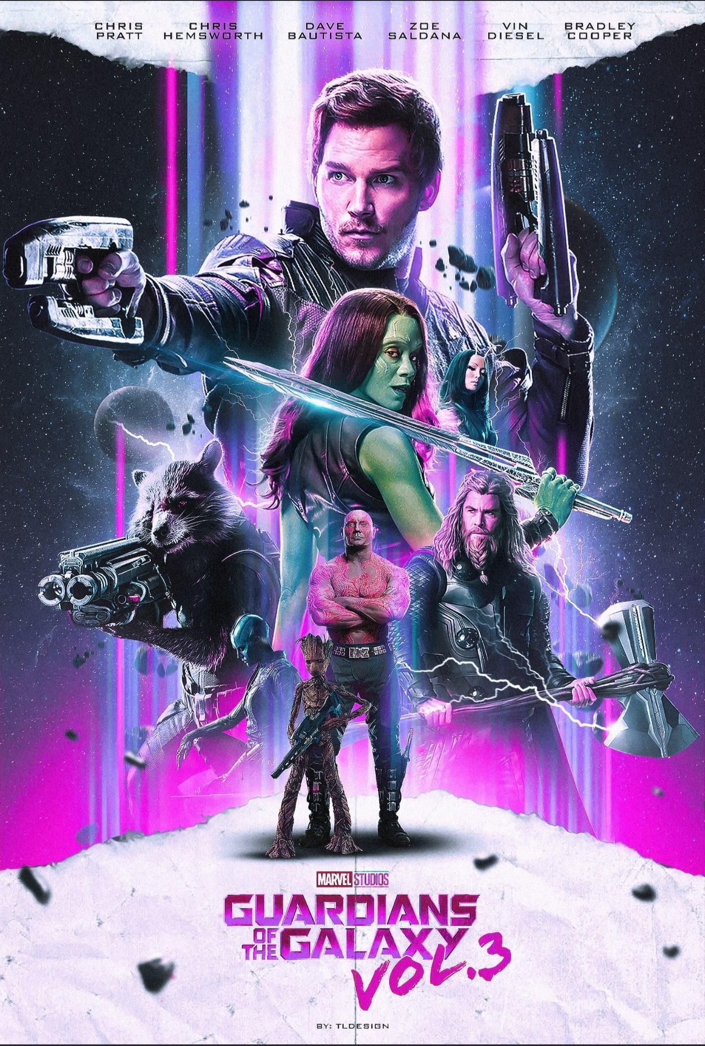 Guardians Of The Galaxy Vol 3 2022 1440 2135 By Tl Design Avengers Pictures Marvel Superheroes Marvel Comic Universe