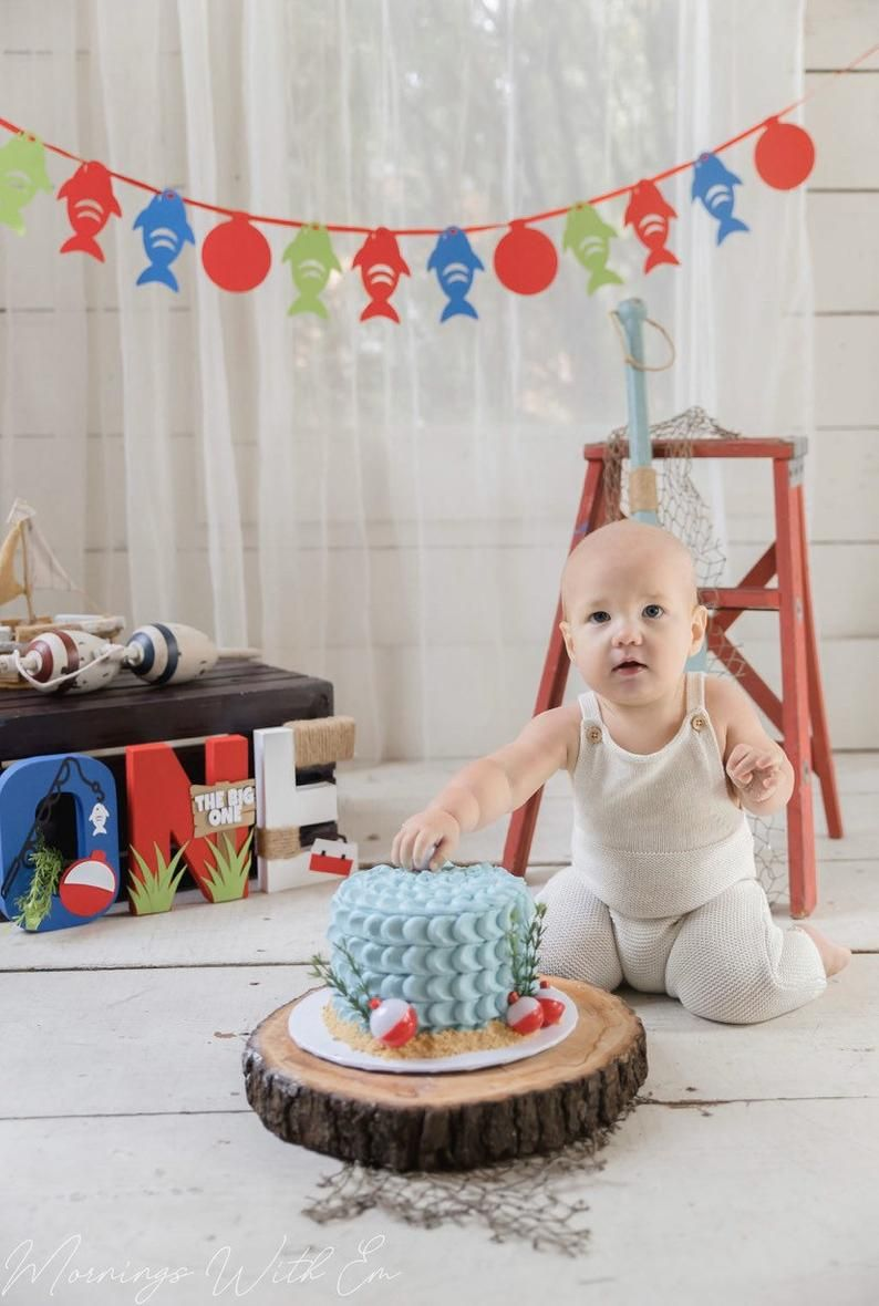 Oh Fishally One First Birthday Party Decorations Boy