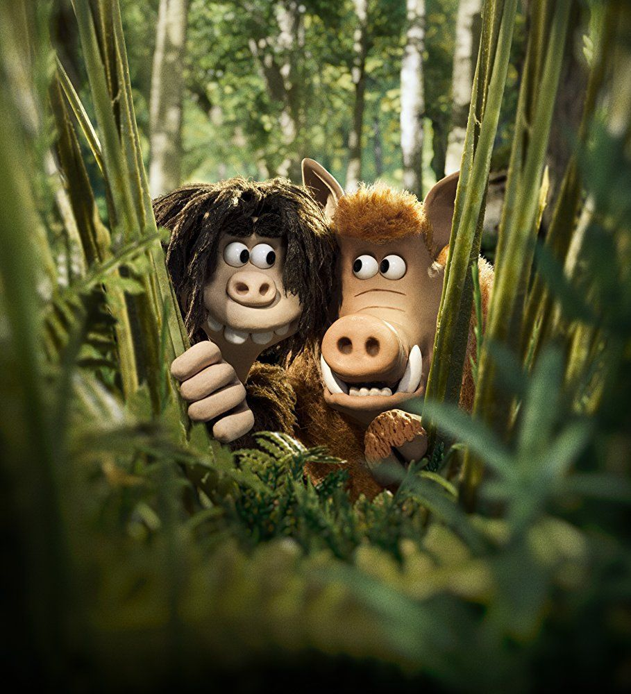 Movie Review Early Man (2018) Aardman animations, Stop