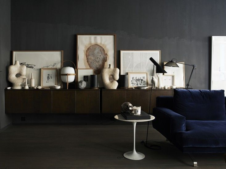 Monochrome Home Hilary Robertson Hand Living Room | Remodelista