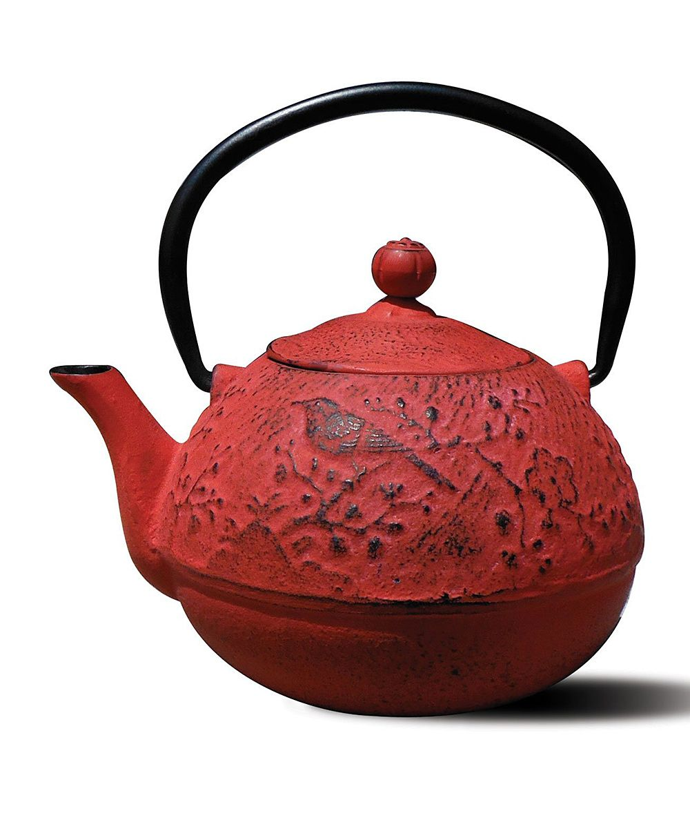 Crafted From Iron And Porcelain This Colorful Teapot Will Enable You To Brew And Serve 24 Ounces Of Delicious T Tea Pots Cast Iron Tea Pot Old Dutch