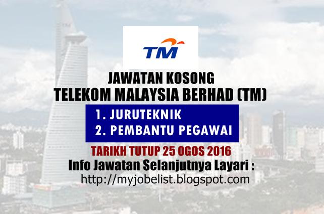 Jawatan Kosong Telekom Malaysia Berhad Tm 25 Ogos 2016 Jawatan Kosong Terkini Di Pos Mala Business Communication Network Infrastructure Business Solutions