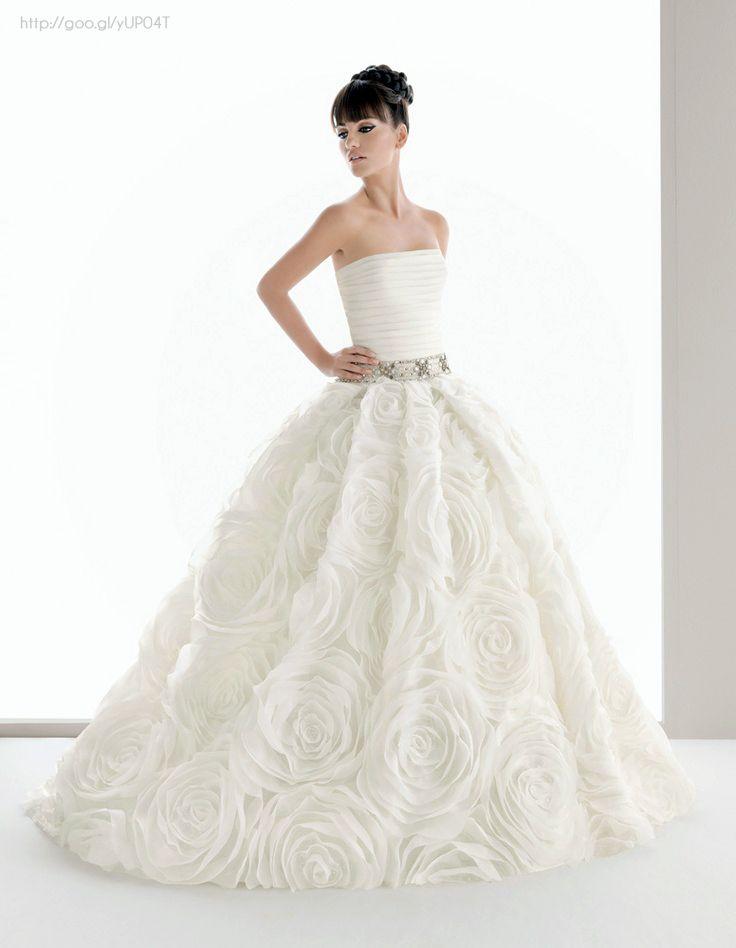 vestido de novia tipo ball gown #bride #weddingdress #dress