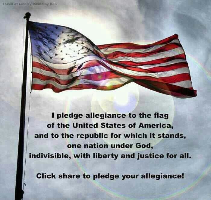 So Beautiful Pledge Of Allegiance Liberty And Justice For