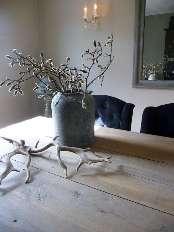 Diy leg ze gewoon op je tafel kast of vensterbank voor een stoer en robuust interieur styling - Sfeer zen lounge ...