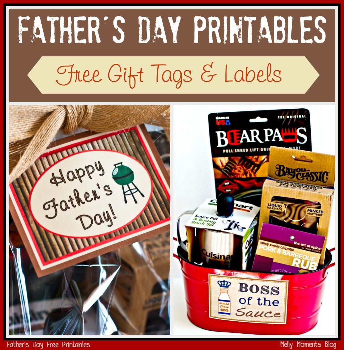 Birthday Gift Ideas For That Special Man In Your Life: DIY Father's Day Gift Basket. A BBQ/Grilling Theme