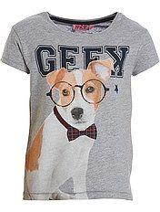 Camiseta con estampado de animales