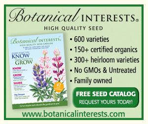 botanical interests seed catalog 600 varieties 150 certified organics 300 heirloom