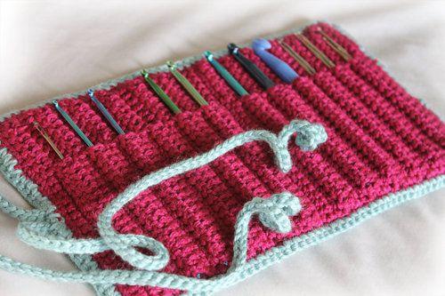 Crocheted Hook Holder Pattern. #Crochet #CrochetPattern | Yarn Envy ...