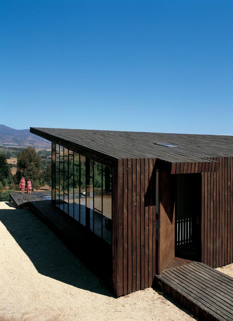 Deck house, alto rungue, chile, by felipe assadi   francisca ...